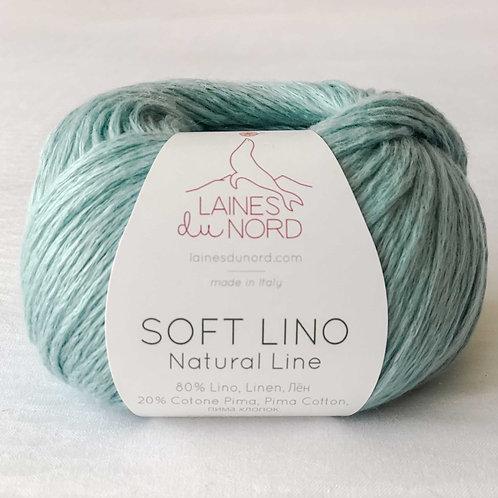 Soft Linen Yarn - Sea Glass