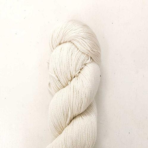 Undyed Lux Mulberry & Merino Yarn
