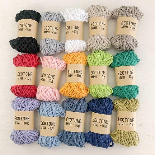 Mini Ecotone - Recycled Cotton Yarn (10g)