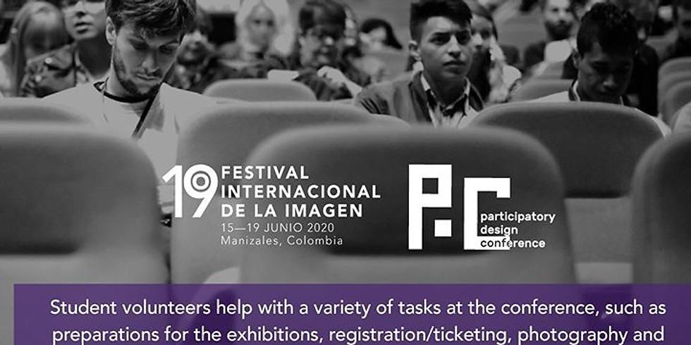 Llamado a estudiantes voluntarios Imagen Fest.