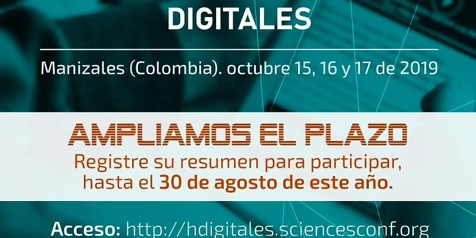 Coloquio Internacional de Humanidades Digitales