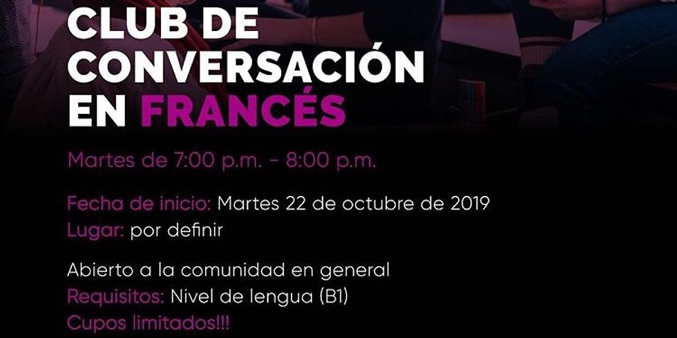Club de Conversación en Francés