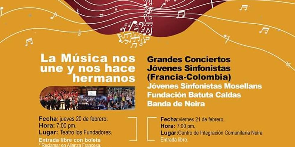 Grandes conciertos. Jóvenes sinfonistas.