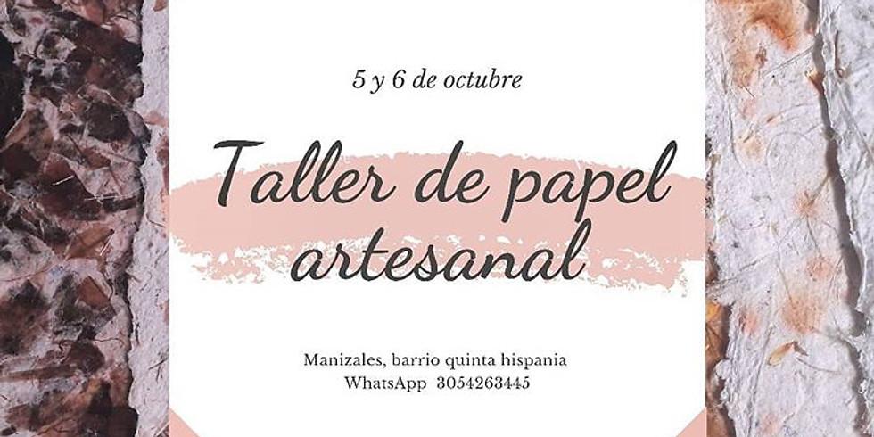 Taller de papel artesanal