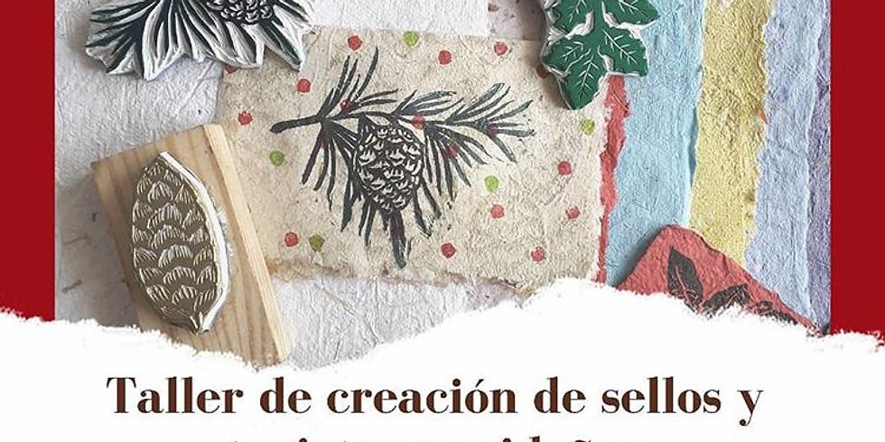 Taller de creación de sellos y tarjetas navideñas