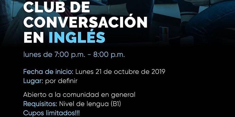 Club de conversación en inglés