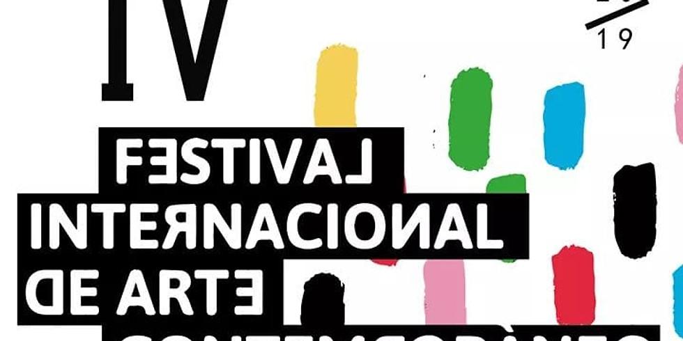 Festival Internacional de Arte Contemporáneo.
