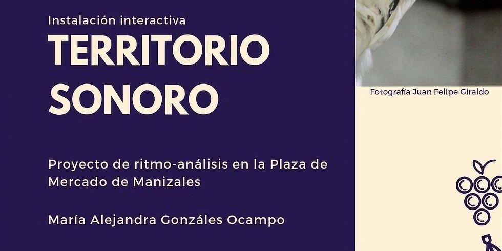 Instalación interactiva: TERRITORIO SONORO