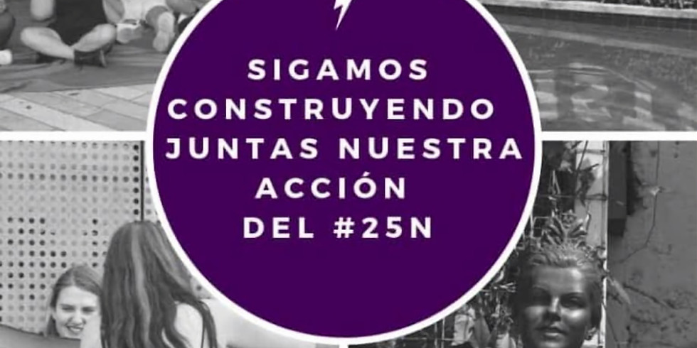 Sigamos construyendo juntas nuestra acción del #25N