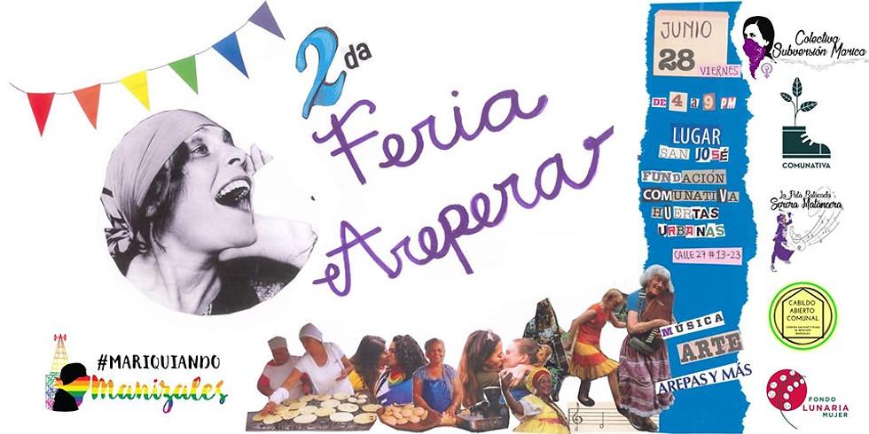 II Feria Arepera