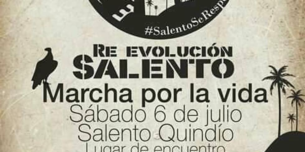 Re Evolución Salento. Marcha por la Vida