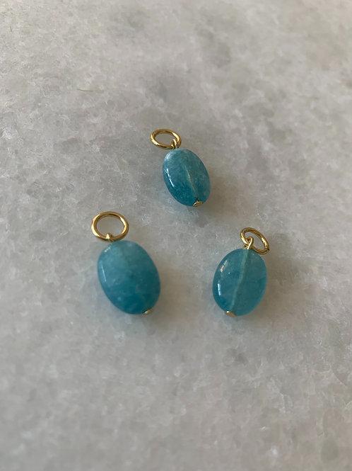 Semi Precious Stone Blue Babe