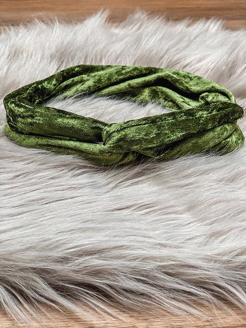 Bandana 'golden green glam'