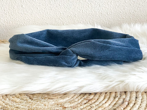 Bandana ''Blauwe rib''