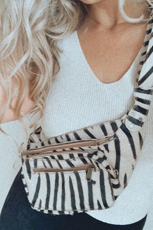 Fanny pack zebra