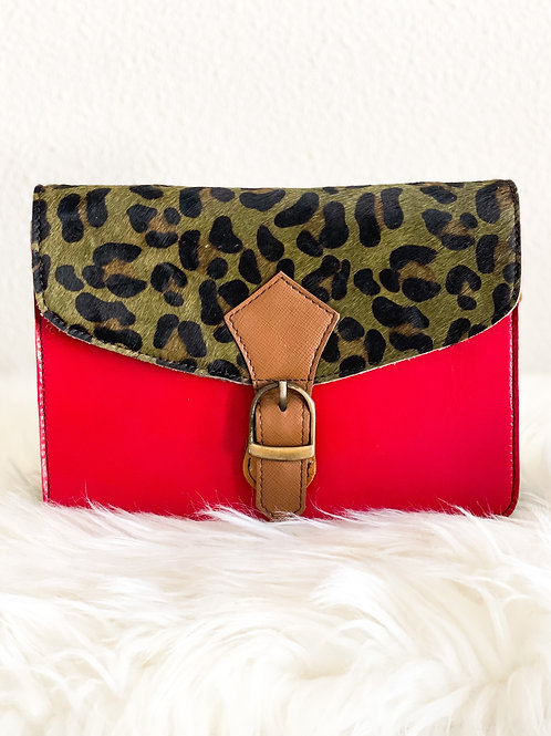 Nina bag dierenprint tas