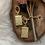 Thumbnail: Gouden panter oorbellen