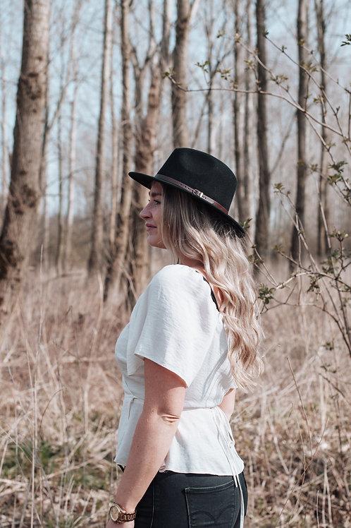 Fedora hoed 'black'