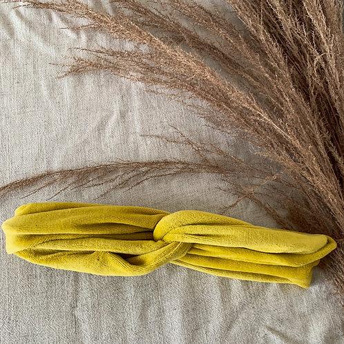 "Bandana ""velvet yellow"""