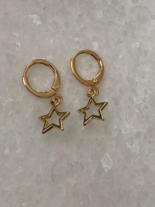 You're my star oorbellen goud