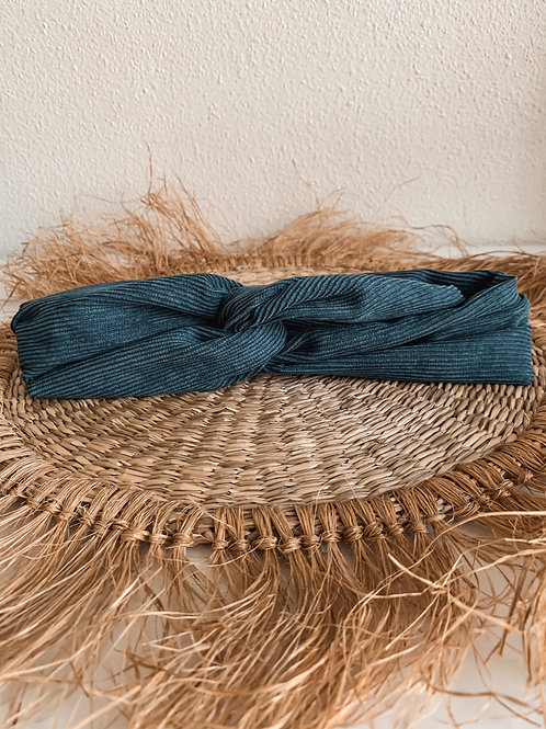 Bandana 'blauwe rib'