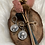 Thumbnail: Zilveren big coin oorbellen