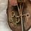 Thumbnail: Gouden munt oorbelletjes small
