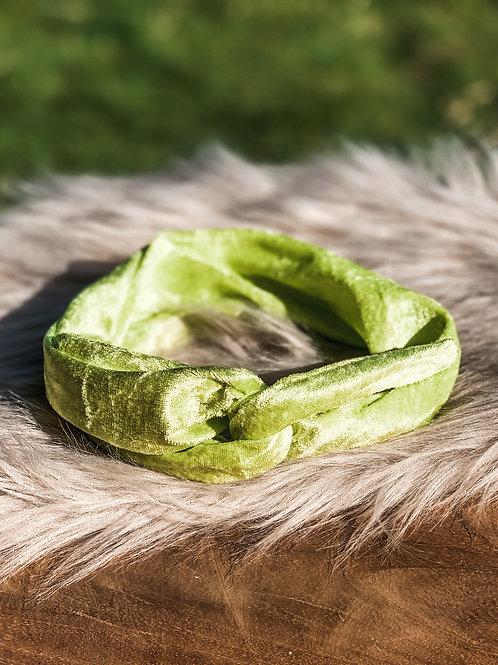 """Bandana ''green glamour"""""""