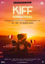 Le KIFF International - Festival d'Improvisation - Annulé
