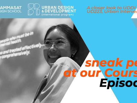 Sneak-peek at our Classes! Episode 1: UD223, Y2