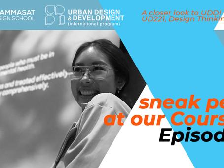 Sneak-peek at our Classes! Episode 2: UD221, Y1