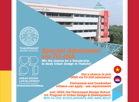 Thammasat International Office Scholarships!