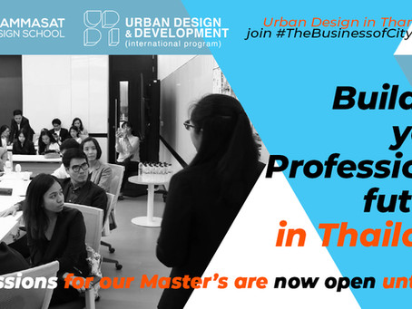 Build-up your Professional future: MASTER's ADMISSIONS OPEN!