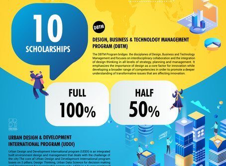 SCHOLARSHIP AVAILABLE for UDDI!