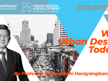 Why Urban Design Today? Ep. 2
