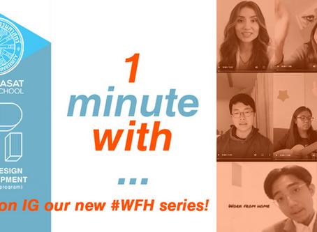 Sharing is Caring! UDDI #WFH video call!
