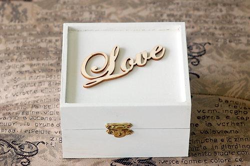 Urban bride kitchener wedding accessories necklaces veils personalized white wedding wooden ring bearer box junglespirit Images