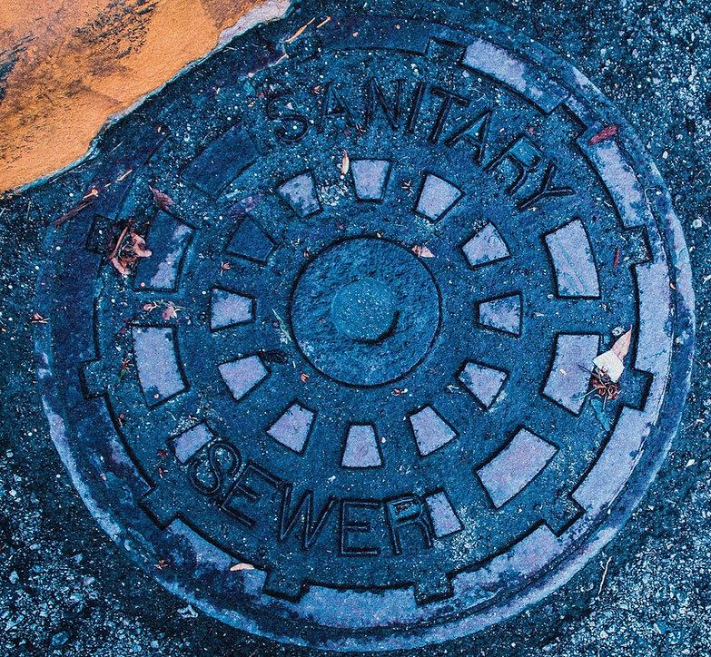 Cast Iron Sanitary Sewer Manhole Lid