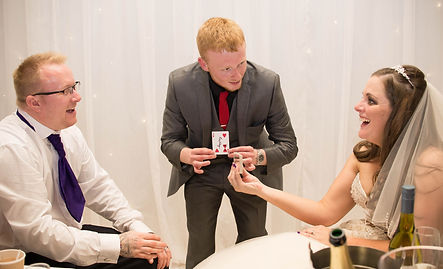 Zanda Magic Wedding Magician Lancashire