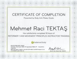 Reformer Pilate sModül 1 ve Pilates Hareket Prensipleri