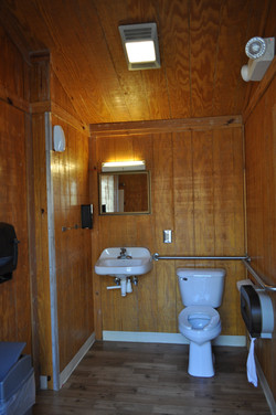 Inside upper bath house