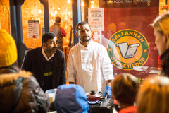 NC Supper Club tempting the crowds with their delicious Sri Lankan Street Food
