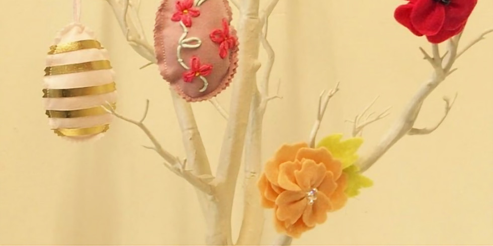 Embroidered Easter Decorations