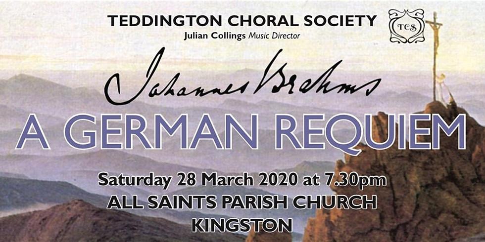 Johannes Brahms, a German Requiem