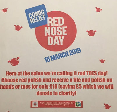 Red Toes Day for only £10