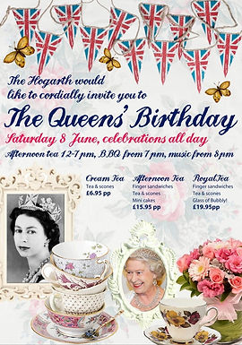The Queen's Birthday Bash