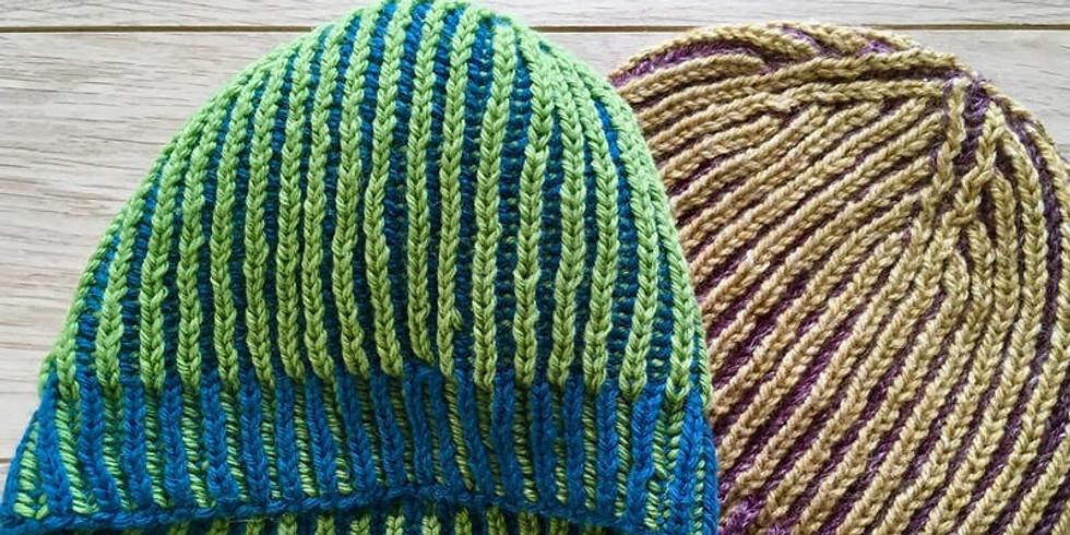 Learn the basics of brioche stitch - Handmade Workshops Ltd