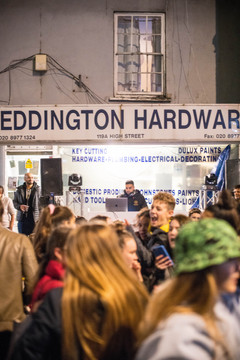 The boys no how to party at Teddington Hardware