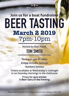 Beer Tasting Hosted by Beer Hawk