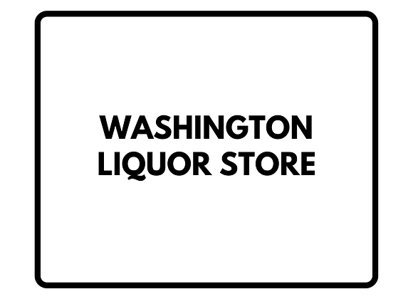 Washington Liquor Store Gift Certificate